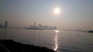 Sunrise at Liberty State Park